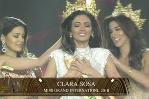 CLIP: Mỹ nhân Paraguay đăng quang, Phương Nga dừng chân đầy tiếc nuối tại Top 10 Miss Grand International 2018