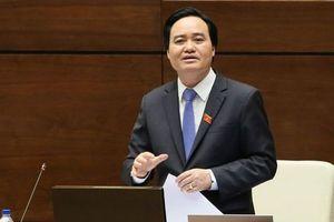 Bộ trưởng Phùng Xuân Nhạ nói gì sau khi có phiếu tín nhiệm thấp nhiều nhất?