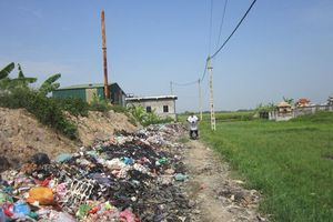 Hải Dương: Khởi động lò đốt rác bỏ không nhiều năm
