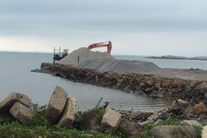 Hải Hà (Quảng Ninh): Nhiều bến bãi kinh doanh cát, đá, sỏi gây ô nhiễm môi trường