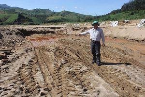Kon Tum: Cán bộ huyện bị đánh bầm mắt vì quay phim khai thác cát