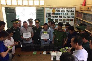 Hà Tĩnh: Bắt 2 đối tượng buôn ma túy vượt biên giới xuống biển với số lượng lớn