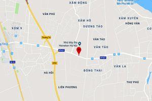 Hà Nội sắp có đường mới nối QL21B đến cao tốc Pháp Vân - Cầu Giẽ
