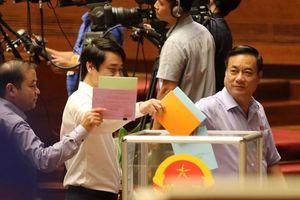 Quốc hội công bố kết quả lấy phiếu tín nhiệm 48 chức danh
