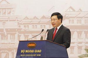 Ngoại giao Việt Nam: Chủ động, sáng tạo, hiệu quả thực hiện thắng lợi Nghị quyết Đại hội XII của Đảng