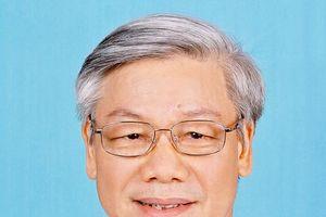 Lãnh đạo các nước gửi điện và thư chúc mừng Tổng Bí thư, Chủ tịch nước Nguyễn Phú Trọng