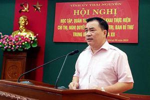 Thái Nguyên: Chú trọng các chương trình, đề án, đề tài tổng kết thực tiễn, nghiên cứu lý luận