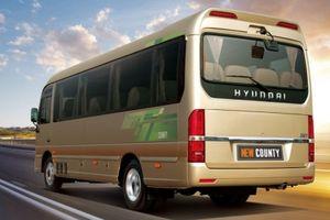 Hyundai Thành Công giới thiệu New County thế hệ mới giá 1,395 tỷ đồng