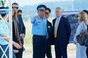 Việt Nam thông tin chính thức về chuyến thăm của Bộ trưởng Quốc phòng Mỹ James Mattis