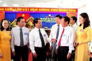 BẢN TIN MẶT TRẬN: Phó Chủ tịch - Tổng thư ký Hầu A Lềnh dự đại hội MTTQ cấp xã đầu tiên tỉnh An Giang
