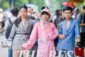 Tuần lễ thời trang ngày 2: Street style bất chấp nắng nóng
