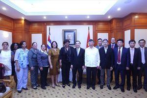 Việt Nam - Cuba: Nâng cao hiệu quả hợp tác KHCN