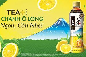SUNTORY ra mắt sản phẩm trà chanh Ô LONG TEA+ tại Việt Nam