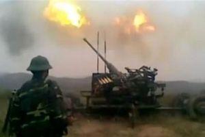 Việt Nam sản xuất mục tiêu giả cho pháo 57mm