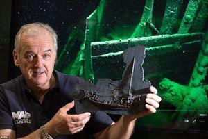 Kinh ngạc xác tàu đắm 24000 tuổi nguyên vẹn nhất thế giới