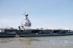 Mỹ tính chi 26 tỷ USD để đóng 2 siêu tàu sân bay
