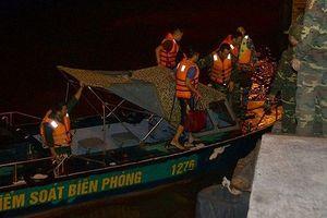 BĐBP Hải Phòng cứu nạn thành công 7 thuyền viên trôi dạt trên biển