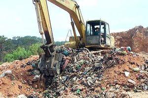 Chôn lấp rác trái phép, nhà máy xử lý bị phạt 350 triệu