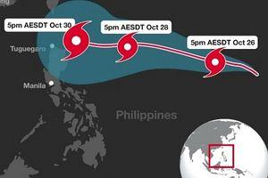 Yutu - Siêu bão sẽ đổ bộ vào Philippines?
