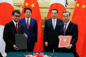 Giữa lúc căng thẳng với Mỹ, Trung Quốc ký thỏa thuận 30 tỷ USD với Nhật Bản
