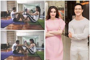 Hồ Ngọc Hà đăng clip tập yoga 'tình bể bình' với Kim Lý, xóa tan tin đồn rạn nứt
