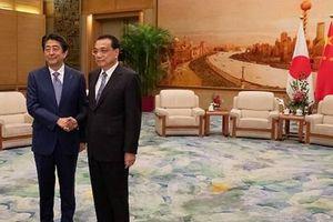 Trung Quốc và Nhật Bản ký nhiều thỏa thuận tăng cường hợp tác