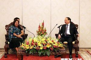 Cuba mong muốn thúc đẩy quan hệ hữu nghị truyền thống với Việt Nam