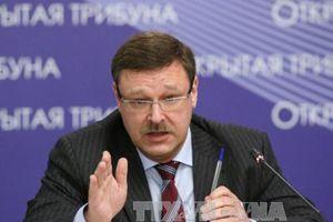 Nga chỉ trích nghị quyết của Nghị viện châu Âu về biển Azov
