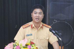 Công an Hà Nội có tân Trưởng phòng Cảnh sát giao thông