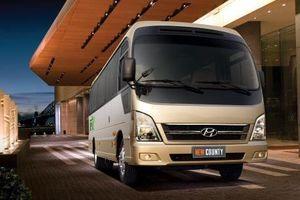 Hyundai Thành Công ra mắt xe khách New County thế hệ mới