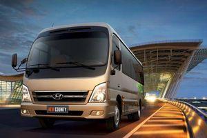 Hyundai giới thiệu County mới, giá từ 1,395 tỷ đồng