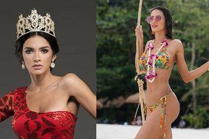 Cận cảnh nhan sắc nóng bỏng của Tân Hoa hậu Hòa bình Thế giới 2018