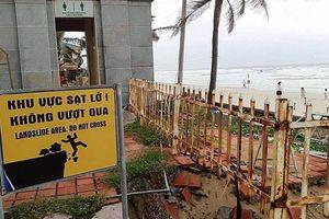 Đà Nẵng: Triển khai khắc phục bờ biển du lịch sạt lở nghiêm trọng