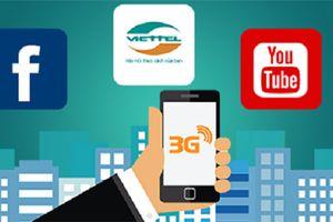 Mạng 3G Viettel đứng đầu ở nhiều tỉnh thành