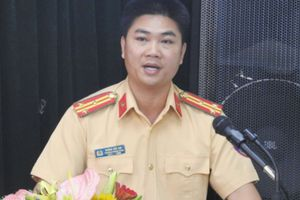 Hà Nội: Chính thức bổ nhiệm tân Trưởng phòng Cảnh sát giao thông