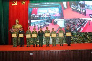 Bế mạc Diễn tập khu vực phòng thủ tỉnh Hà Nam năm 2018