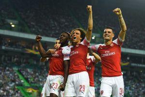 Kết quả Europa League hôm nay: Milan thua sốc, Arsenal thắng Sporting