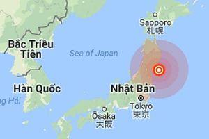 Động đất 5,7 độ richter xảy ra tại Nhật Bản