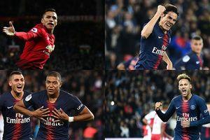 Alexis Sanchez và đội hình có thể xưng bá trời Âu của PSG