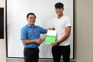 Những thổ lộ đầu tiên của cựu trung vệ U23 Việt Nam vừa gia nhập HAGL