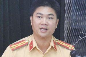 Cảnh sát giao thông TP Hà Nội có tân trưởng phòng
