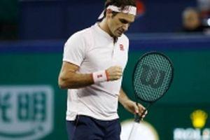 Federer chật vật vào bán kết giải quần vợt Swiss Indoors