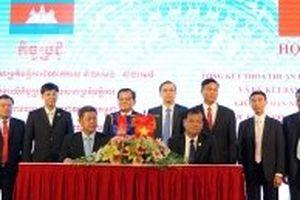 Hai tỉnh Tây Ninh và Kampong Cham ký thỏa thuận hợp tác