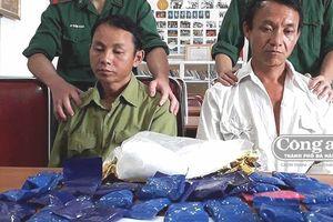 Bắt 1kg 'đá' và 6.800 viên ma túy