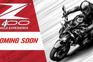 Xe môtô Kawasaki Z400 phiên bản 2019 sẵn sàng ra mắt