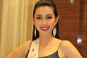 Loạt ảnh đầu tiên của Thùy Tiên tại Miss International 2018
