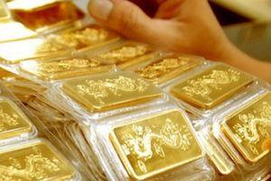 Giá vàng miếng bật tăng phiên cuối tuần