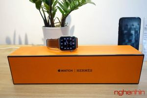 Trên tay Apple Watch Hermès Series 4 phiên bản sang chảnh và đắt nhất tại Việt Nam