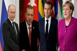 Bắt đầu Hội nghị thượng đỉnh Nga, Pháp, Đức, Thổ Nhĩ Kỳ bàn về Syria
