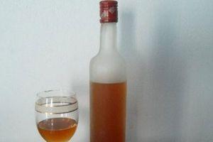 Tự ngâm rượu đào tiên trị bách bệnh tại nhà